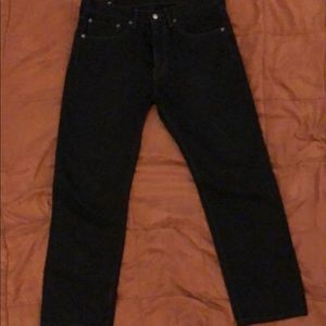 Levi's 505/Blk/W34 L30/ Great Condition/Must Have